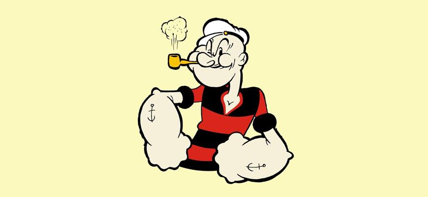 Popeye branded content