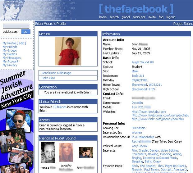 Facebook se expande a más universidades