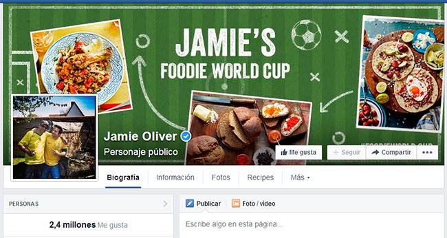 Jamie Oliver Facebook