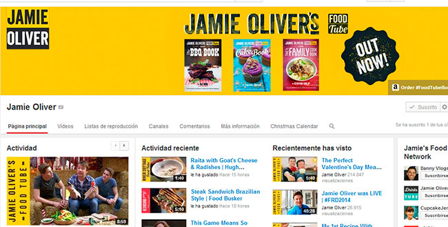 Jamie Oliver Youtube