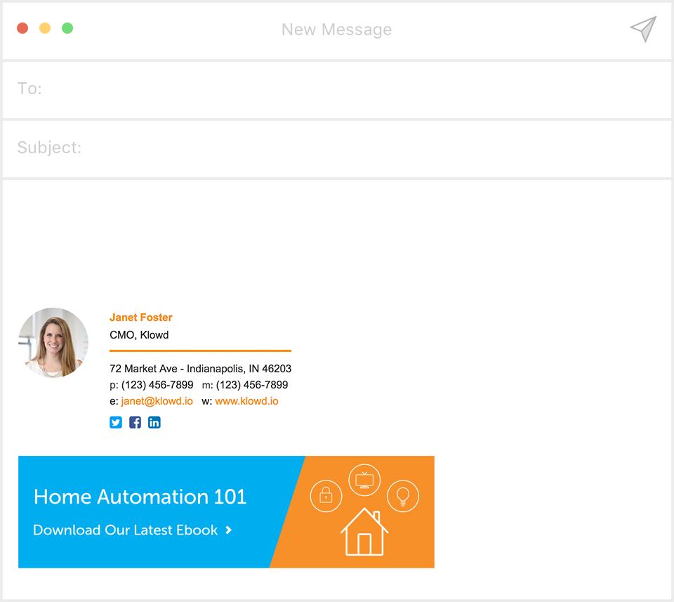 Ganar conversiones con firma email