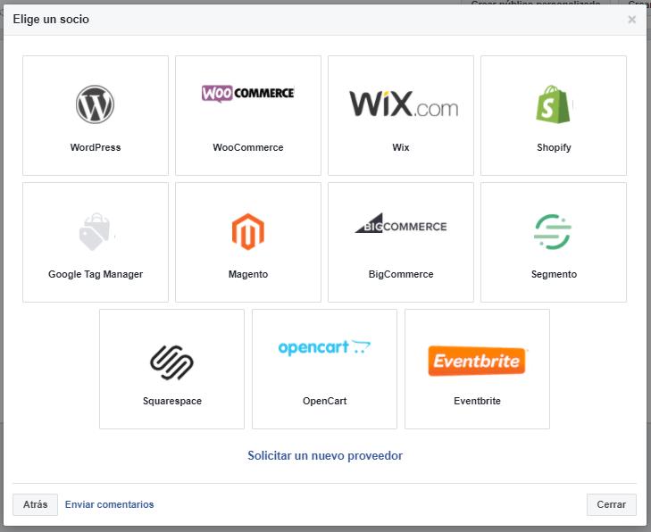 instalar pixel facebook wordpress