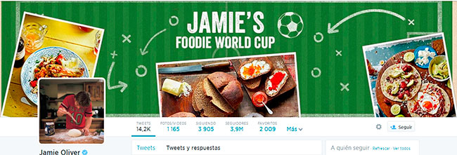 Jamie Oliver twitter