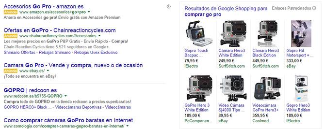 Google Shopping y Adwords