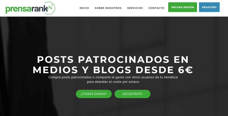 Post patrocinados en medios y blogs